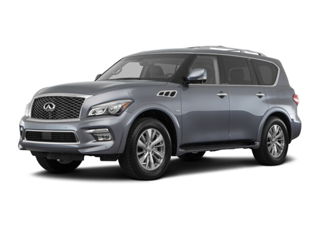 Used 2017 INFINITI QX80 SUV for Sale in London, KY & Corbin, KY.