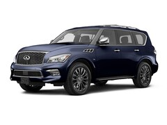 Used 2017 INFINITI QX80 Limited SUV for sale in Houston