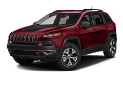 Used 2017 Jeep Cherokee Trailhawk 4x4 SUV for sale in Oneonta, NY