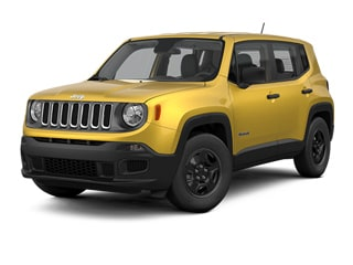 2017 Jeep Renegade SUV Solar Yellow