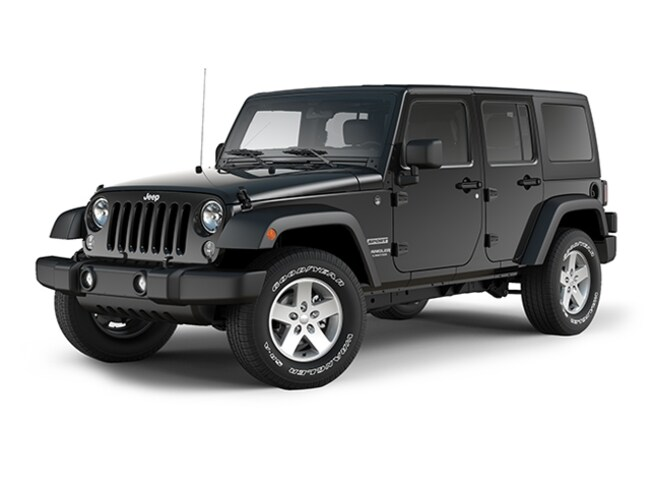 2017 Jeep Wrangler Unlimited Sport Sport 4x4