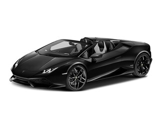 Used 2017 Lamborghini Huracan LP610-4S Convertible for sale in Greenwich
