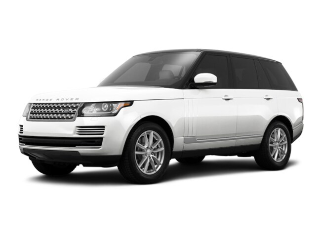 New 2017 Land Rover Range Rover 3.0 Supercharged HSE SUV in Farmington Hills, MI