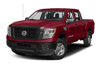 Used 2017 Nissan Titan Truck Crew Cab Fresno CA