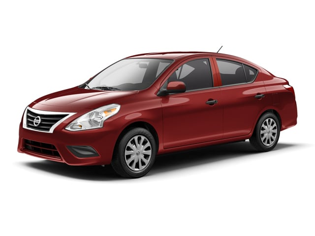 2017 Nissan Versa Sedan Cayenne Red