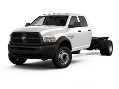 2017 Ram 4500 Chassis 84in CA 2WD w/Left Side PTO Truck Crew Cab