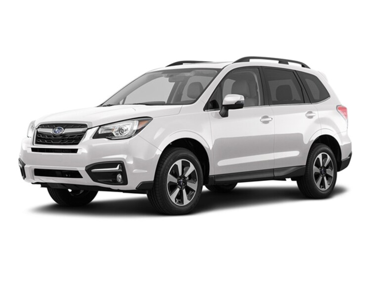 Certified Pre Owned 2017 Subaru Forester 2.5i Limited SUV 1017A for sale near Garden City