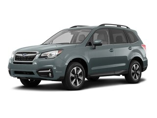 Certified Pre Owned 2017 Subaru Forester 2.5i Limited SUV JF2SJAJC8HH467279 for Sale in Victor near Rochester, NY