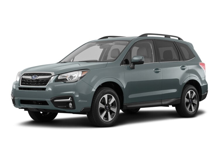 Certified Pre Owned 2017 Subaru Forester 2.5i Limited SUV 1071A for sale near Garden City