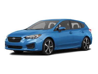 2017 Subaru Impreza 2.0i Sport with EyeSight + Moonroof + BSD/RCTA + H Hatchback