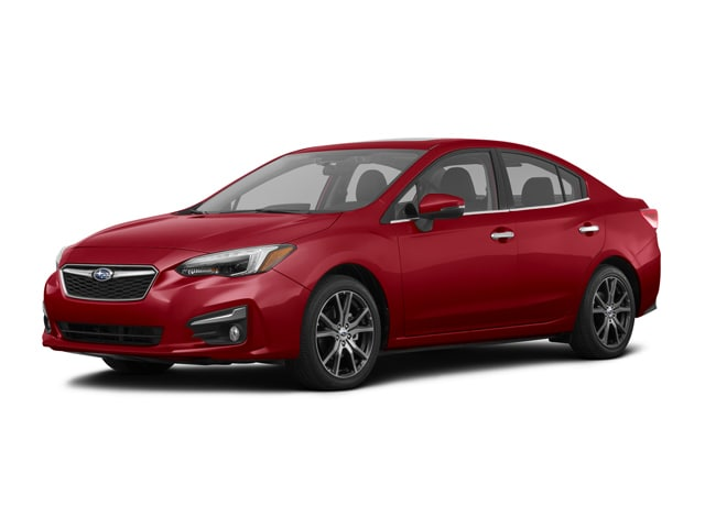 Featured Used 2017 Subaru Impreza 2.0i Limited with EyeSight + Moonroof + BSD/RCTA + Sedan for sale in Huntington Beach CA at McKenna Subaru
