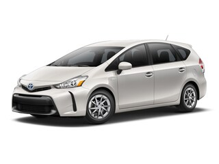 New 2017 Toyota Prius v Two Wagon T2124 in Cadillac, MI