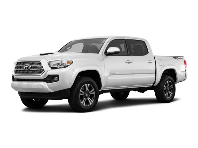 2017 Toyota Tacoma TRD Sport Double Cab 5' Bed V6 4x4 Crew Cab Pickup
