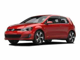 2017 Volkswagen Golf GTI Hatchback Tornado Red
