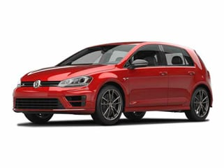 2017 Volkswagen Golf R Hatchback Tornado Red