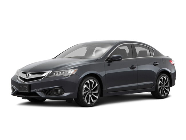 New 2018 Acura ILX with Technology Plus and A-SPEC Package Sedan Tustin