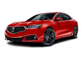 2018 Acura TLX 3.5 V-6 9-AT P-AWS with A-SPEC Sedan