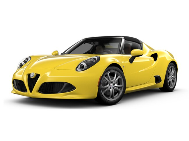 New 2018 Alfa Romeo 4C Spider Convertible for sale in Wilkes Barre