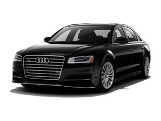2018 Audi A8 Sedan Mythos Black Metallic