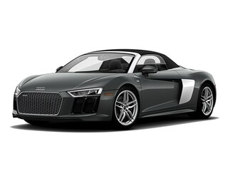 New 2018 Audi R8 5.2 V10 Spyder WUAVACFX2J7900077 for sale in Boise at Audi Boise