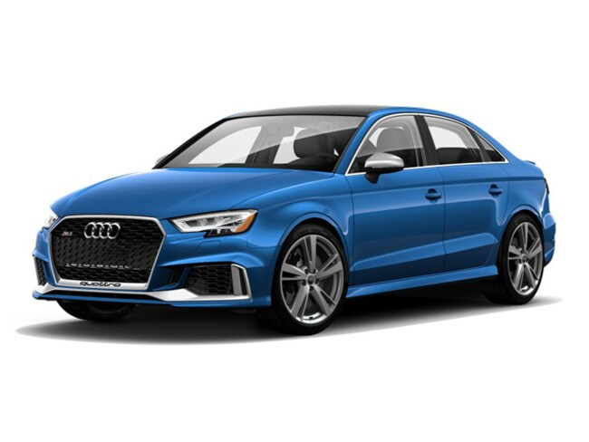 2018 Audi RS 3 2.5 TFSI S Tronic Sedan for sale in Highland Park, IL at Audi Exchange