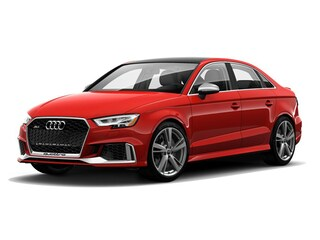 New 2018 Audi RS 3 2.5T Sedan Burlington MA