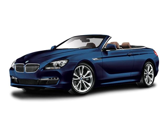 Space Gray Metallic Tanzanite Blue 2018 BMW 650i Convertible