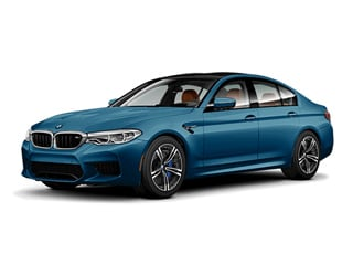 2018 BMW M5 Sedan Snapper Rocks Blue Metallic