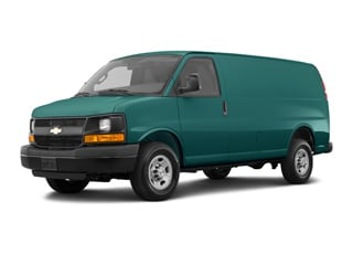 2018 Chevrolet Express 3500 Van Woodland Green