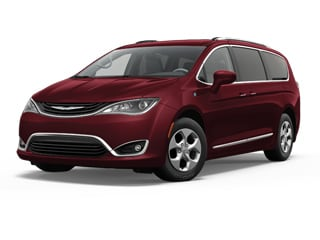 2018 Chrysler Pacifica Hybrid Van Velvet Red Metallic