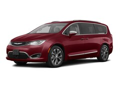 New 2018 Chrysler Pacifica Limited Van 2C4RC1GGXJR154326 for sale in Peoria, IL at Sam Leman Chrysler Dodge Jeep Ram of Peoria
