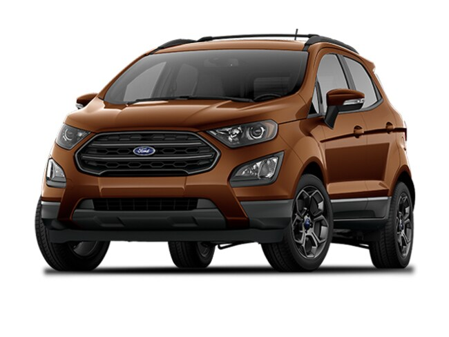 New 2018 Ford EcoSport SES SUV For Sale Park Rapids, MN