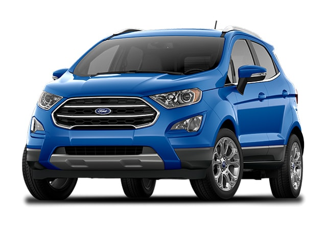 Used 2018 Ford EcoSport Titanium SUV Blue For Sale in Boise ID | Stock:4898H