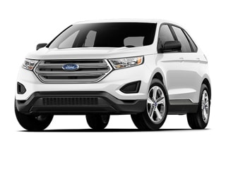 Ford Edge Suv White Platinum Metallic Tri
