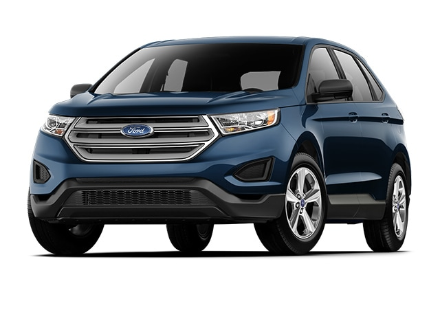 Ford Edge Suv Blue Metallic