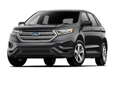2018 Ford Edge SE All-Wheel Drive with Locking and Limited-Slip Diff