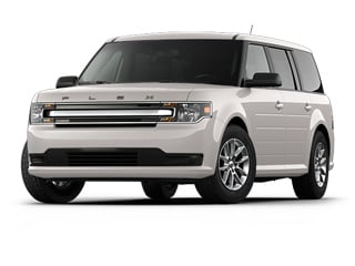 2018 Ford Flex SUV White Platinum Metallic Tri