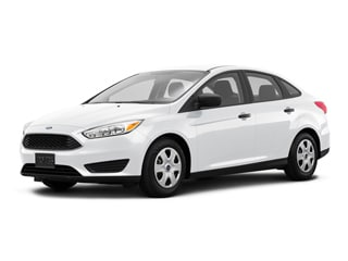 2018 Ford Focus Sedan White Platinum Metallic Tri