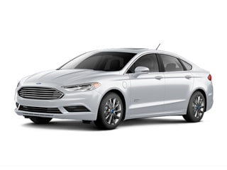 2018 Ford Fusion Energi Sedan White Platinum Metallic Tri