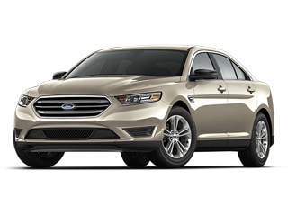 2018 Ford Taurus Sedan White Platinum Metallic Tri