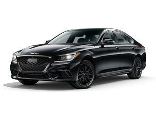 2018 Genesis G80 3.3T Sport Sedan KMHGN4JB9JU245134 for sale in Mendon, MA at Imperial Cars