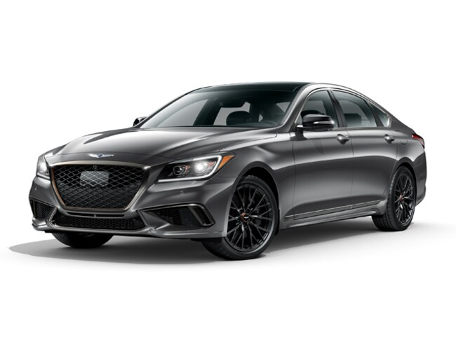 2018 Genesis G80 3.3T Sport Sedan KMHGN4JB5JU248841 for sale in Manahawkin, NJ at Causeway Hyundai