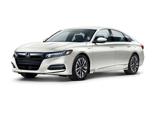 2018 Honda Accord Hybrid Sedan White Orchid Pearl