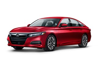 2018 Honda Accord Hybrid Base Sedan 1HGCV3F18JA007081