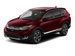 New 2018 Honda CR-V Touring SUV 5J6RW2H99JL024411 for sale in Terre Haute at Thompson's Honda