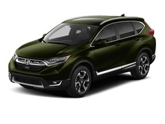 New 2018 Honda CR-V Touring SUV 7FARW2H96JE065088 for sale in Terre Haute at Thompson's Honda