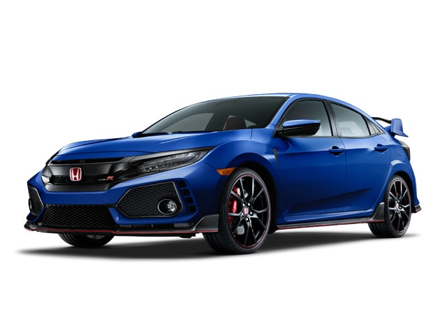 2018 Honda Civic Type R Hatchback Aegean Blue Metallic
