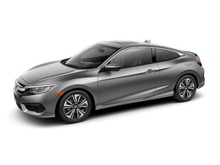 New 2018 Honda Civic EX-L Coupe J353741 for Sale in Morrow at Willett Honda South