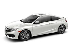 New 2018 Honda Civic EX-T Coupe 2HGFC3A39JH354898 for sale in Terre Haute at Thompson's Honda