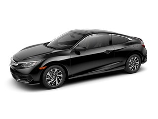 New 2018 Honda Civic LX-P Coupe 2HGFC4B03JH301415 for sale in Johnston, RI at Grieco Honda